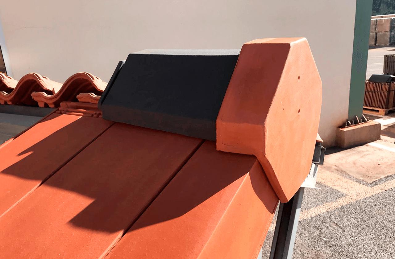 Ridge tile special pieces
